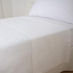 Polyester en coton blanc feuille supérieure