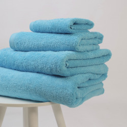 Serviette coton 550 gr / m2 turquesa 25