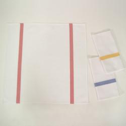 Serge stripes linge à vaisselle