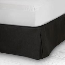 Couvre dim noir canapé 42