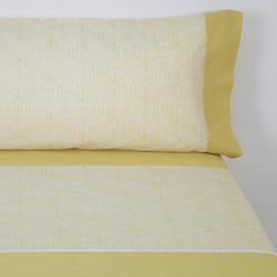 Parure de lit mahon moutarde