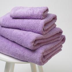 Serviette en coton 550 gr / m2 lavande 22