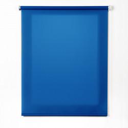Tissu translucide bleu rouleau