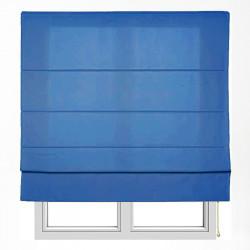 Store à tige lisse bleu Turin