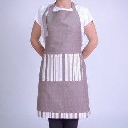 Reversible apron beig