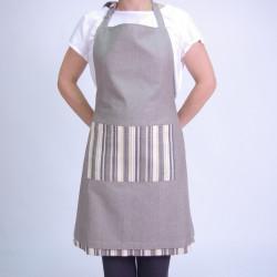 Reversible apron mink