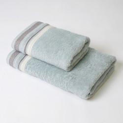 Ensemble de serviettes 2p Scarlett Acqua