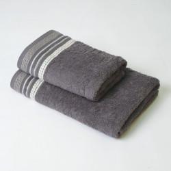 Ensemble de 2 serviettes en plomb Scarlett