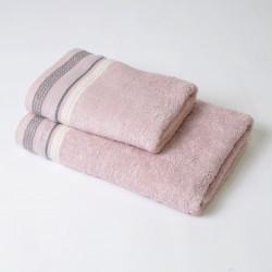 Ensemble de serviettes 2p Scarlett rose