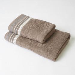 Ensemble de serviettes en lin Scarlett 2p