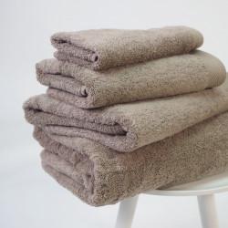 Serviette coton bio 600 gr / m2 beige