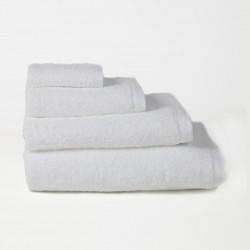 Serviette en coton peigné 500 gr / m2 blanc