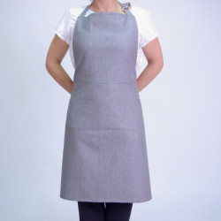 TABLIER APRON GRIS