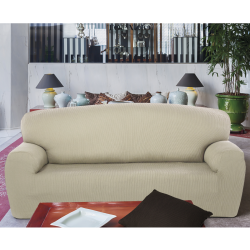 Cas 3 squares sofa rustique