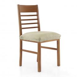 Modèle de couverture chaise stretch rustique