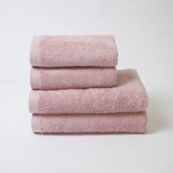 Serviette en coton 550 gr / m2 rose