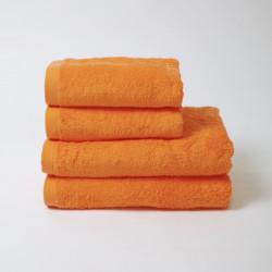Serviette en coton mandarine 550 gr / m2