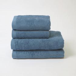 Serviette en coton 550 gr / m2 cobalt