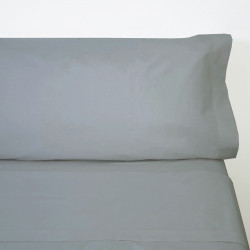 Ensemble de draps en coton gris