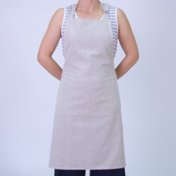 TABLIER APRON BEIGE