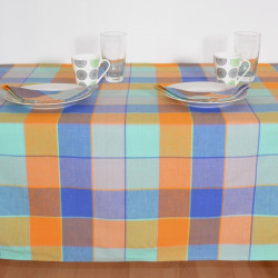 LINGE DE TABLE CHECK TERRE