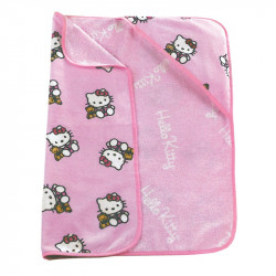 CAPE DE BAIN ROSE HELLO KITTY