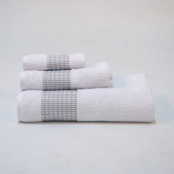 Pirinco blanc jeu serviette