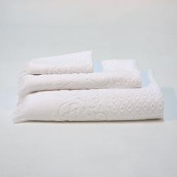 Blanc jacquard set 991 serviettes