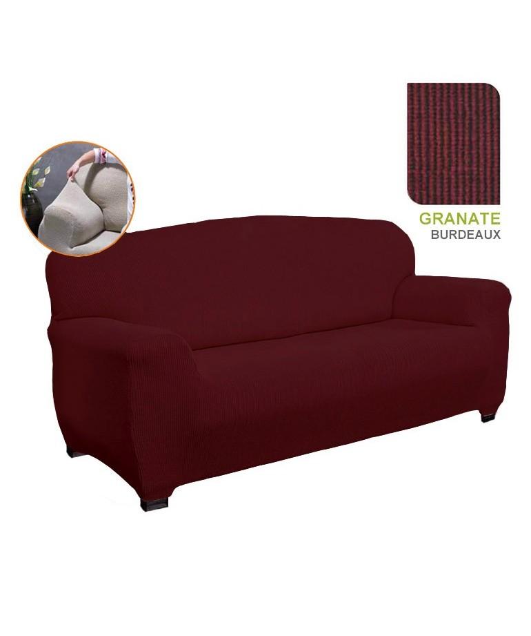 housse de canap 4 places noemie diezxdiez. Black Bedroom Furniture Sets. Home Design Ideas