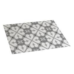Bcn vinyl carpet grey 45x75