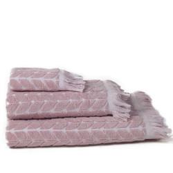 Rosa tang jacquard serviette