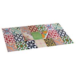 Color vinyl tile carpet 50x110