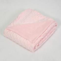 Bébé rose bulles blanchet