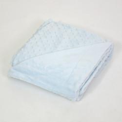 Bébé bleu manta bulles