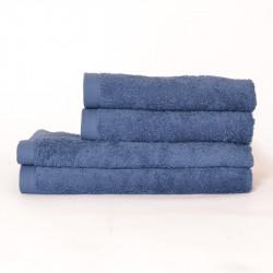 Serviette 550 gr / m2 bleu